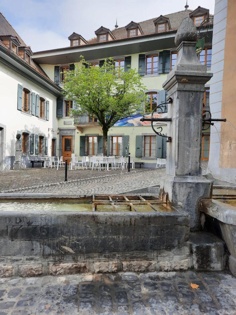 Les fontaines de Montreux | Service des eaux du maralley